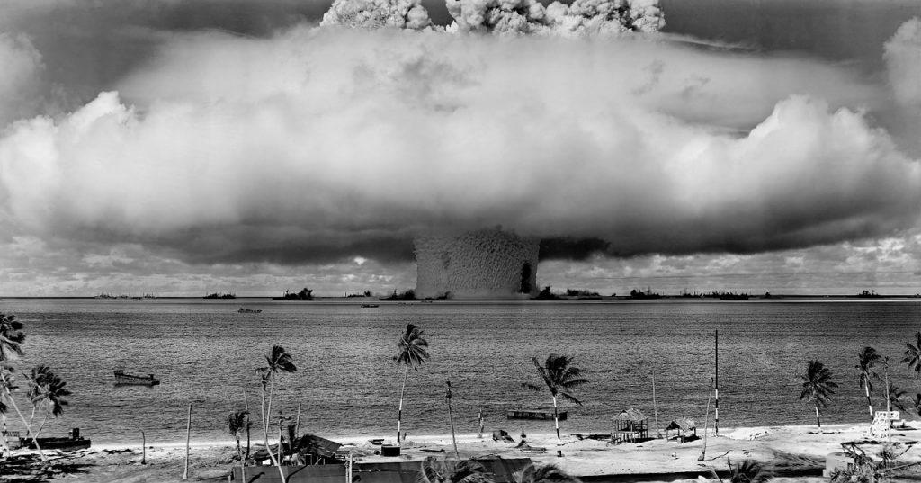 Nuklearwaffentest in der Südsee